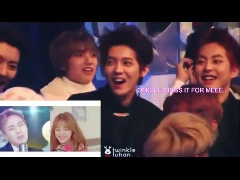 LuHan 鹿晗 Reaction To MV 야 하고 싶어 Call You Bae (ft. 시우민 XiuMin) ♫