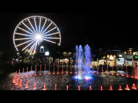 Pigeon Forge - Titanic Museum, Three Bears General Store, Dixie Stampede, The Island & More