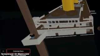 ROBLOX TITANIC TRAILER