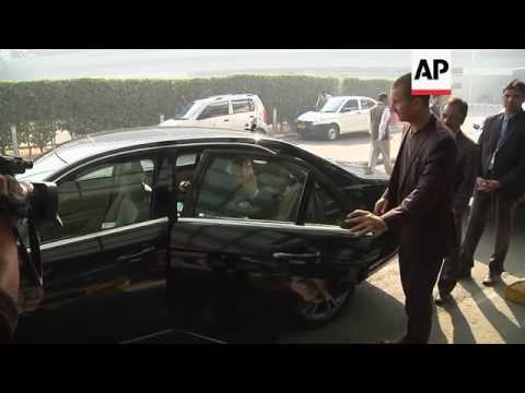 French foreign minister arrives on visit to India