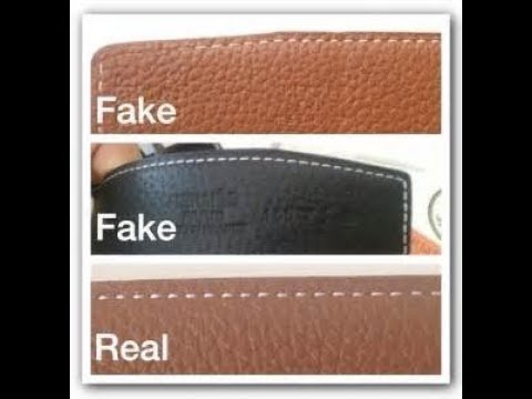 Real Ferragamo Belt >> Real Vs Fake Ferragamo Belt