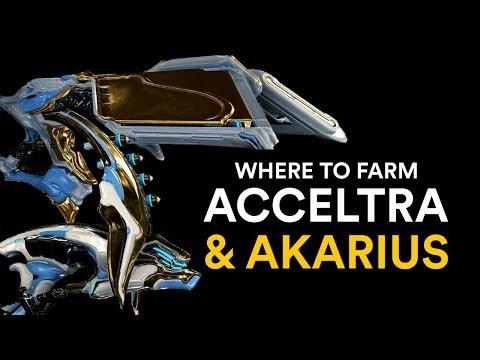 Where To Farm Acceltra & Akarius! (Warframe)