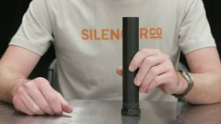 The SilencerCo Nano ASR has a reduced diameter for use with the Har...