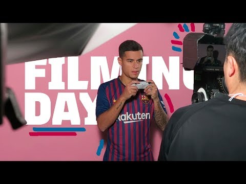 Filming day with the team! FC Barcelona VLOG