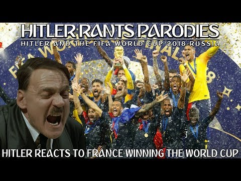 Hitler reacts to France winning the World Cup Final