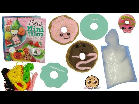 Sew Mini Treats  Do It Yourself Make Kawaii Cute Donuts - Easy DIY Felt Craft Book