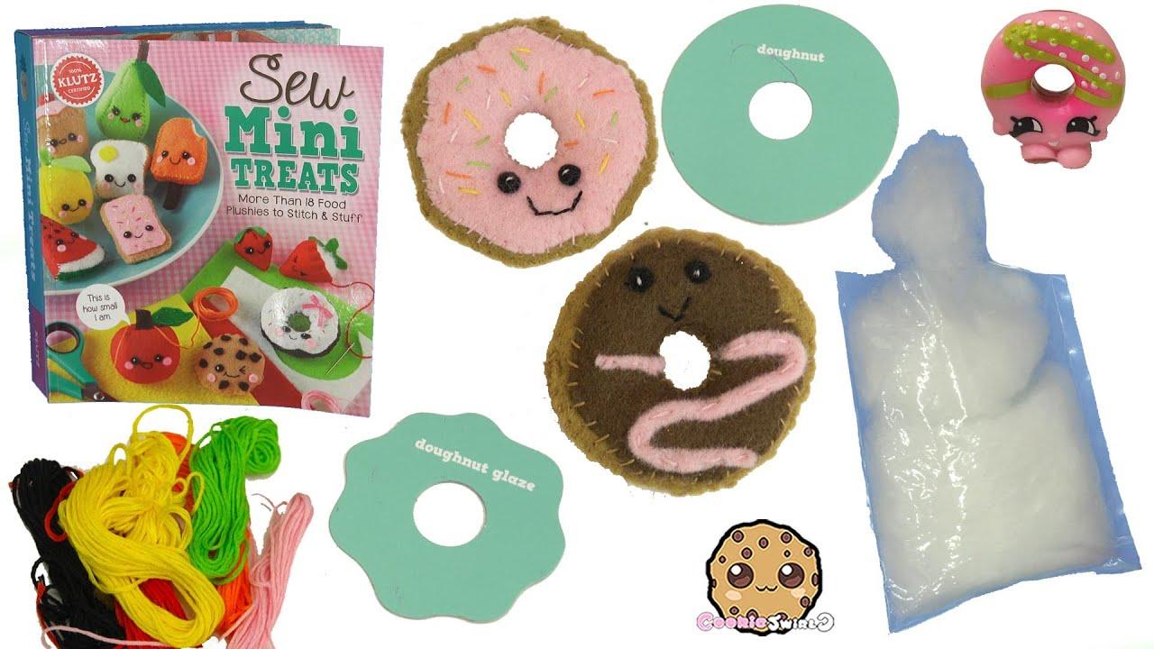 Felt craft book - Sew Mini Treats Do It Yourself Make Kawaii Cute Donuts Easy Diy Felt Craft Book