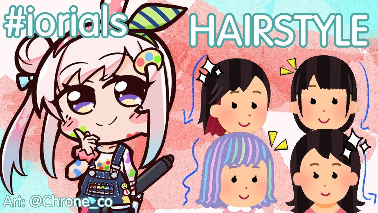 【iorials #6】Hair! Long? Short? Medium? ANNOUNCEMENT?!【hololive-ID】