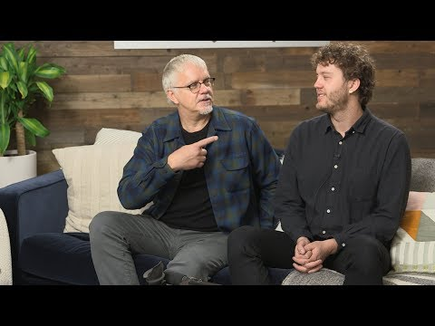 "Jack Henry Robbins discusses his film ""Painting With Joan"" at IndieWire's Sundance Studio"