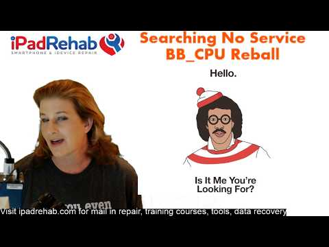 iPhone 6/6+ Searching No Service Signature Fault--BB_CPU Reball