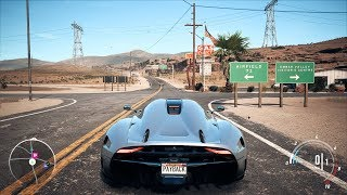 Need For Speed: Payback - Koenigsegg Regera - Open World Free Roam Gameplay (PC HD) [1080p60FPS]