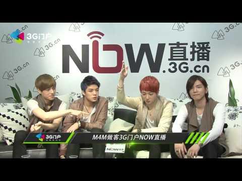 M4M做客3G门户NOW直播 Interview