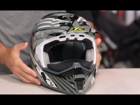 4f2d724d Klim F4 ECE Shattered Helmet Review at RevZilla.com - YouTube