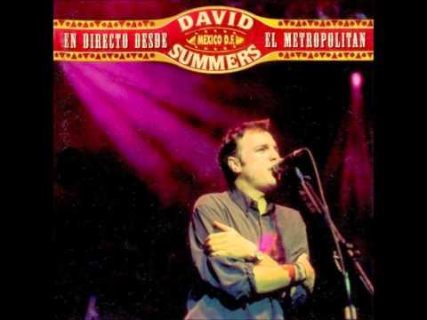 David Summers - Si me dejas (En directo)