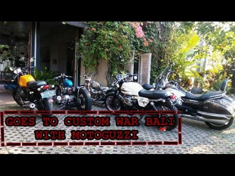Riding To Custom War Bali With Moto Guzzi Indonesia And Friends #1