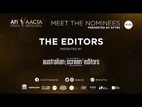 The Editors – 2017 AACTA Meet the Nominees presented by AFTRS