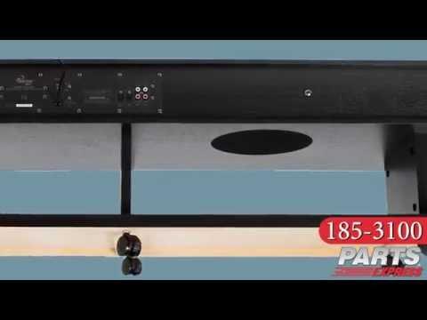Dayton Audio ATS1200 3.1 TV Stand