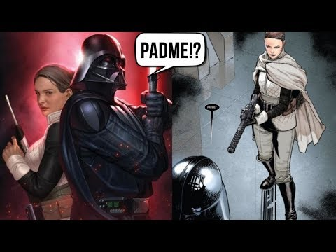 PADME REUNITES WITH DARTH VADER [CANON] - Star Wars Darth Vader Comic #1