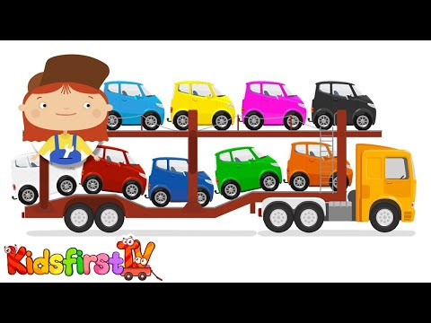 Thumbnail: Doc McWheelie - CAR TRANSPORTER! - Learn Colors : Learn Numbers!