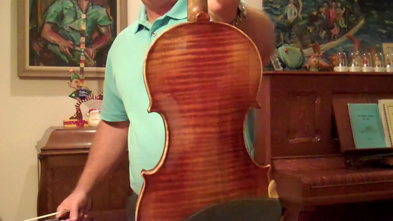 violin 1611 s panasoffkee guarneri model with super tone for sale youtube. Black Bedroom Furniture Sets. Home Design Ideas