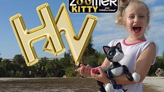 Zoomer Kitty. Интерактивный робот котенок Robot Cat Zoomer Kitty. Review Interactive Pet Kitty Cat