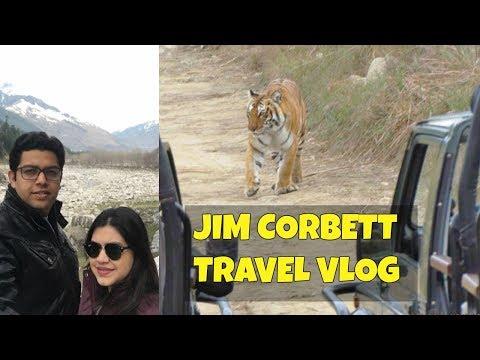 Jim Corbett National Park | Tiger spotted in Safari | Corbett resort tour | India Travel vlog 2017