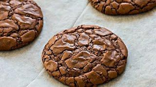 طريقة عمل بروانيز كوكيز على طريقة الشيف افنان الجوهر|How to make Brownies cookies 🍪