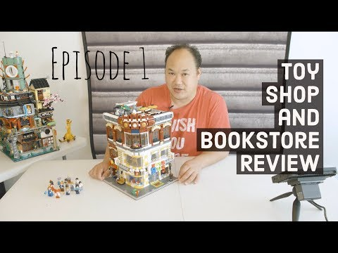 Toy Shop and Bookstore Set - A XINGBAO Brick Review 01006