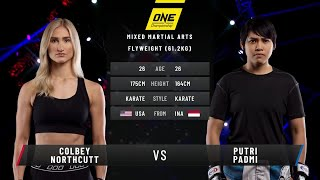 Colbey Northcutt vs. Putri Padmi | Full Fight Replay