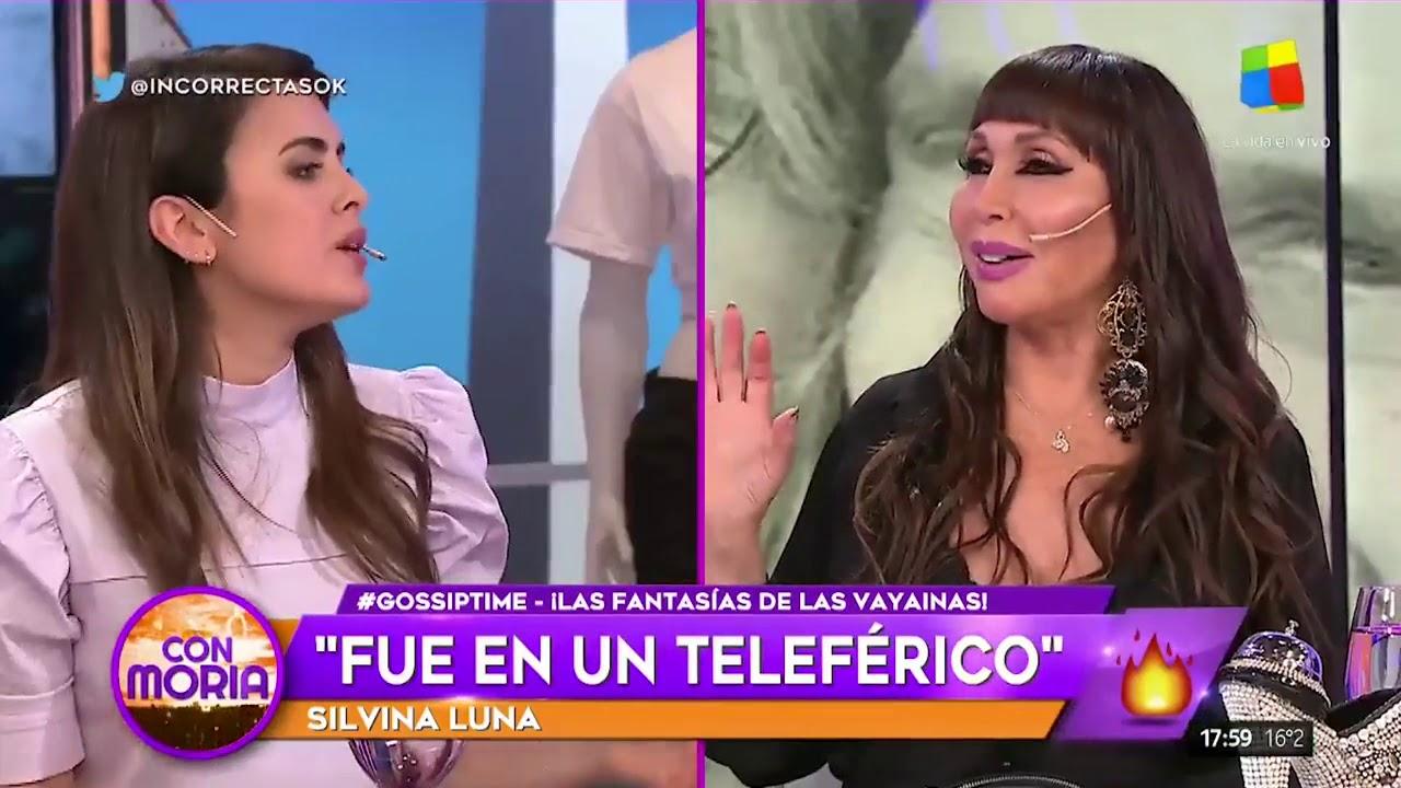Espectaculos: Silvina Luna contó sus experiencias sexuales y dejó a todos boquiabiertos