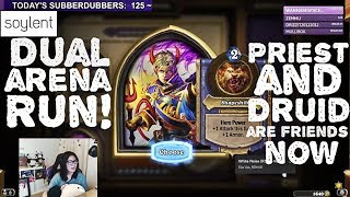 Hearthstone Arena - [Hafu] Dual Arena! Priest-Druid Run!