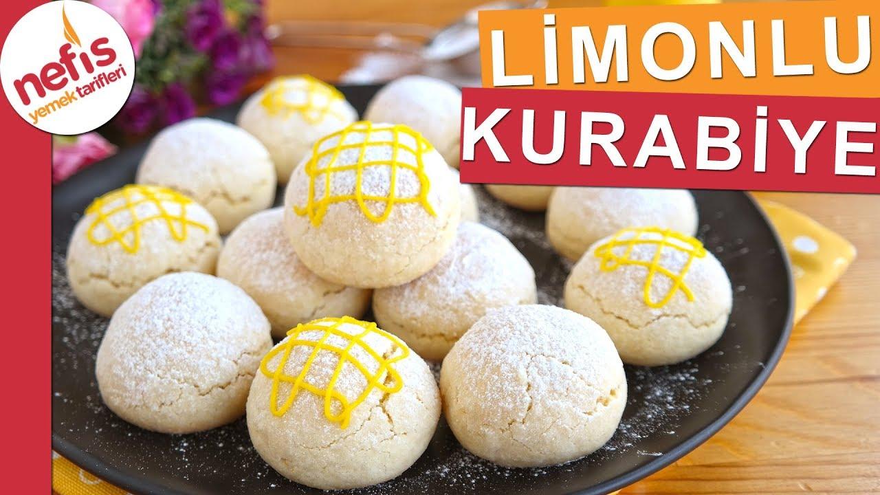 Limonlu Mısır Unlu Kurabiye