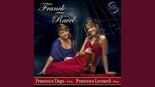 Sonata in A Major for violin and piano: Recitativo-Fantasia. Ben moderato