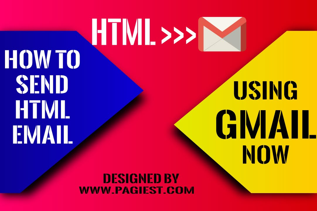 How to send HTML email using gmail - YouTube