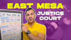 East Mesa Justice Court Criminal Charges in Arizona