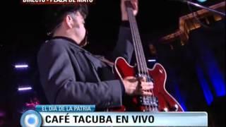Café Tacvba - Chilanga Banda - Plaza de Mayo - Buenos Aires, Argentina - 25 de Mayo 2013