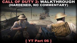 Call of Duty 2 walkthrough 06 (Hardened, No commentary ✔)