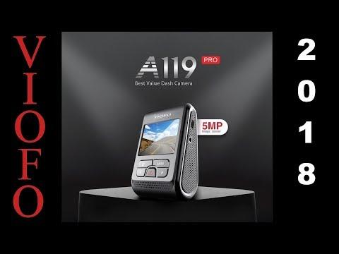 Viofo A119 PRO видеорегистратор 2018 года с GPS.  Пример съёмки