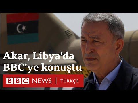 Libya'da son durum: Hulusi Akar Türkiye'nin amacını ve planlarını BBC'ye anlattı