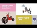 default - Disney Big Wheel Junior Racer Minnie Mouse Ride On