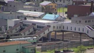 ふるさとの森の薬師山・萩山から見る木古内市街地 @木古内町 Viewspot in Kikonai Hokkaido