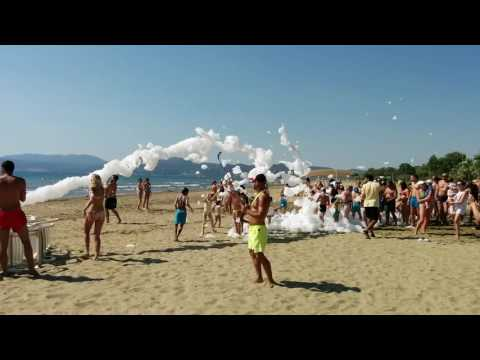 Foam party in Richmond Ephesus Resort