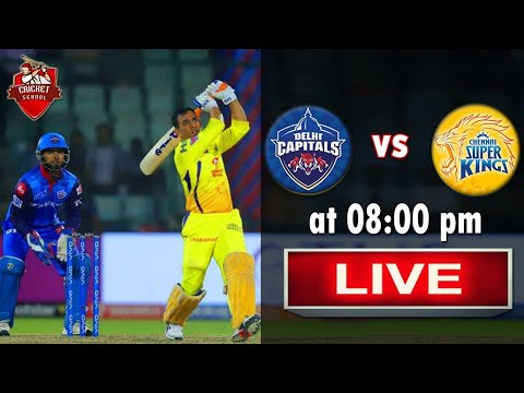 Live IPL Match | CSK vs DC | Live Streaming Scorecard| Match Update
