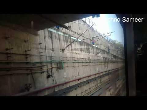 Delhi metro || Delhi Blue Metro line Underground Metro Station|| Underground station.