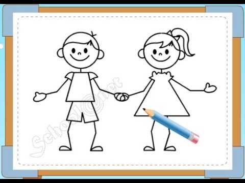 BÉ HỌA SĨ - Thực hành tập vẽ 100: Vẽ bạn bè
