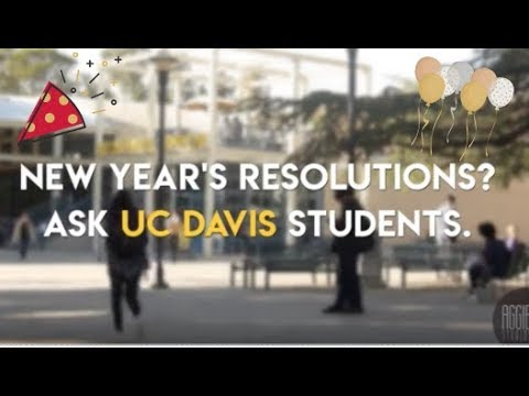 Aggie New Year's Resolutions 2018