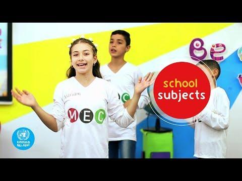 School Subjects Video Clip   Magic English Club