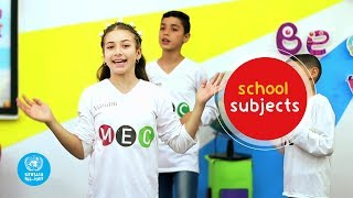 School Subjects Video Clip | Magic English Club