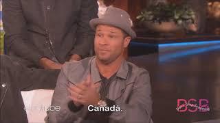 Vídeo Legendado em Português - Backstreet Boys na Ellen Show 19/11/18