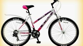 Женский горный велосипед Stels Miss 5000(Заказть по ссылке http://sportoys.ru/magazin/product/velosiped-stels-miss-5000 Телефон +7 499 3917195 Диаметр колес 26